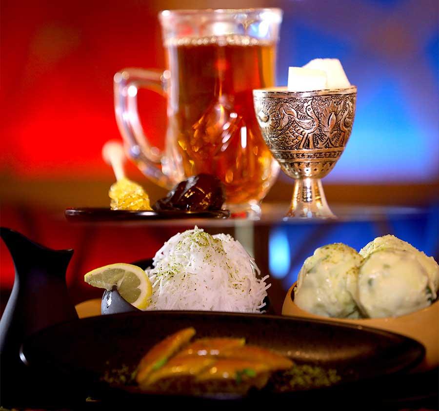 Dessert chez Restaurant Cheminée